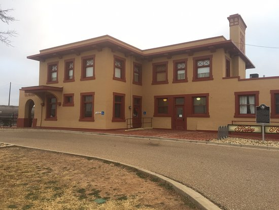 The Harvey House in Slaton, Texas.   A most stop to stay.  My wife heard about it at a Rotary function and made reservations on our trip from Socorro, NM to Katy TX.  A little out of the way, but well worth it.  We will return.  It's a Bed and Breakfast so make your reservations before coming.