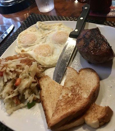 Steak and Eggs for brunch every Saturday and Sunday at The Nook!