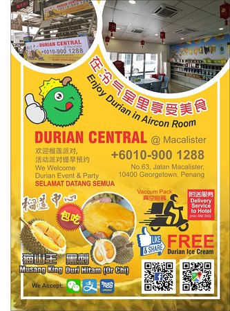 Durian Central Poster / Flyer!