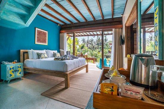 Ethnic Two Bedroom villa Plunge pool