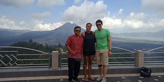 Lovina Beach, Indonesien: Mt Batur view