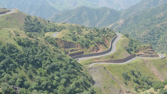 Road cycling in Ethiopia 이미지