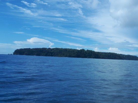 Osa Peninsula, Costa Rica: Arrivée sur l'île