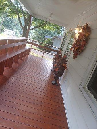 Crumpler WV front porch
