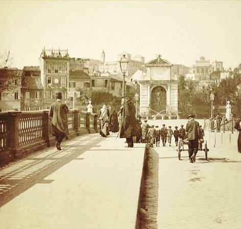 Su ponte Sisto - Roma sparita