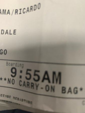Spirit Airlines: Muestra de que fui cliente