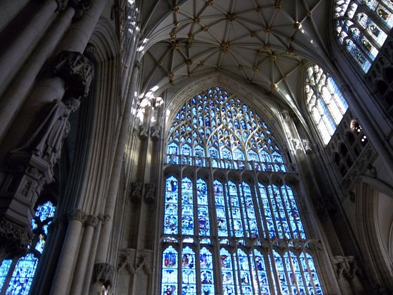 Great East window ( I think- I was quite overwhelmed)