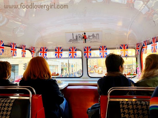 Brigit's Afternoon Tea Bus: The tour
