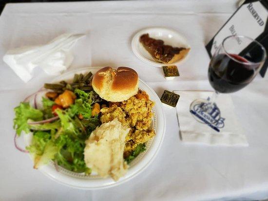 Thanksgiving 11/28/2019 vegetarian meal.