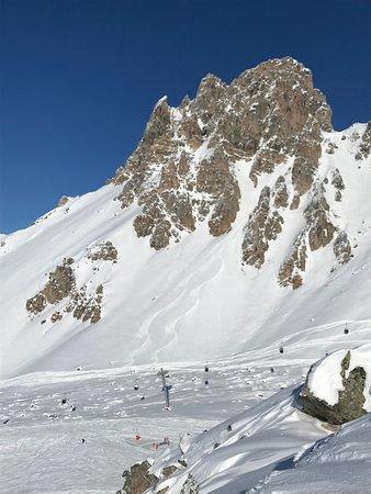 Meribel Ski Resort, Francúzsko: La Saulire
