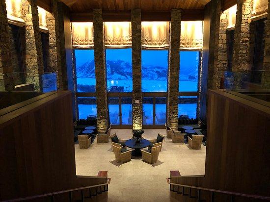 Lobby views