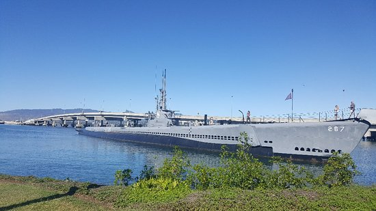 Pearl Harbor Visitor Center Tour Picture