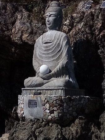 "The ""Pearl of Wisdom"" Buddha - the only Buddha of its kind in the world.  Come see it at the ""Bay of Buddhas"""