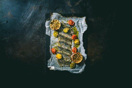 イワシとドライトマトのグリリア
