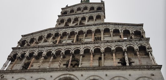 Some amazing buildings in Lucca