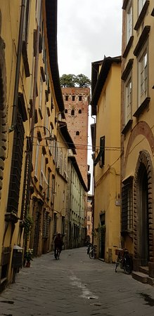 A labyrinth of streets in LUCCA