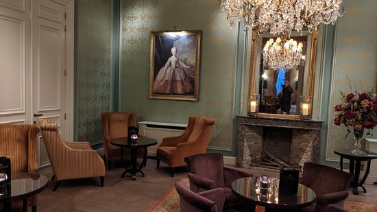 The reception rooms at the hotel