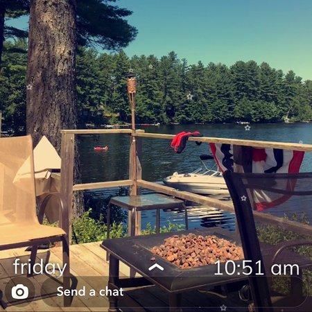 West Buxton, ME: Bonny Eagle Pond, Maine USA