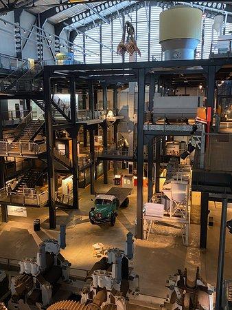 Vue d ensemble et des niveaux du musée