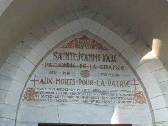 L'eglise Sainte-Jeanne-d'Arc