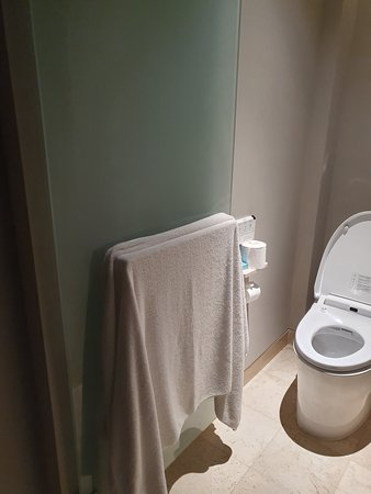 Turn down service where the towels weren't replaced or cleared.