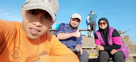 Private Mount Batur Sunrise Trekking: With our guide Archa