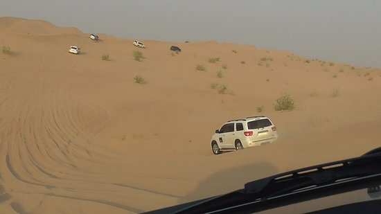 Extreme Desert Safari Evening with Dinner: На Сафари
