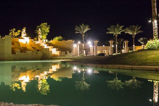 Вечерние виды отеля