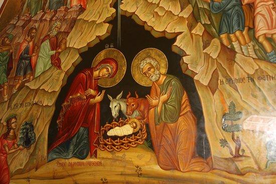 Вифлеем. Храм Рождества Христова. Храмовая икона Рождества.