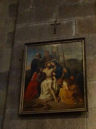 Un élément du chemin de croix