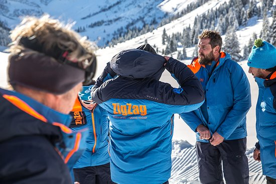 Samoens, Francia: The ZigZag team