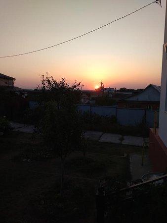 Закат с крыльца
