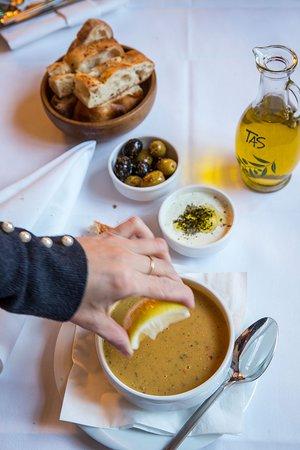 KIRMIZI MERCIMEK CORBASI Anatolian Red Lentil Soup