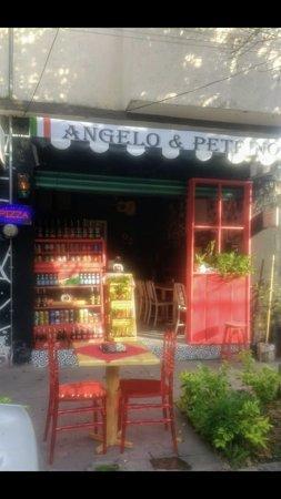 Xochimilco pizza Angelo and Petrino's