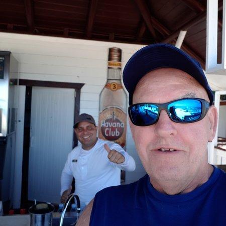 Michel , beach bartender