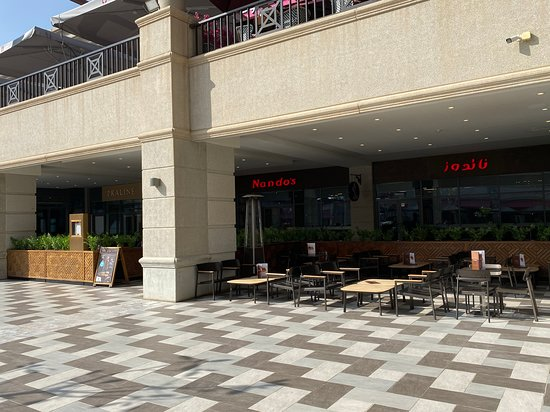 View Of Nando S From Outside Picture Of Nando S Rubeen Plaza Riyadh Tripadvisor