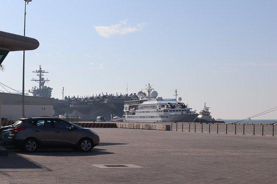 Crystal Esprit: the ship in Manama