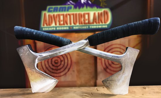 Camp Adventureland Boothwyn - Axe Throwing & Escape Rooms