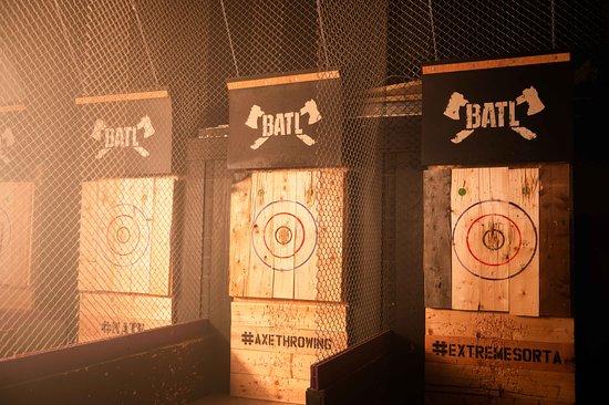 BATL Detroit (Novi) - Picture of BATL - The Backyard Axe ...