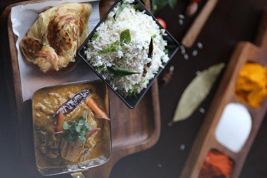 Ostfold, Na Uy: Tamil lamb curry!