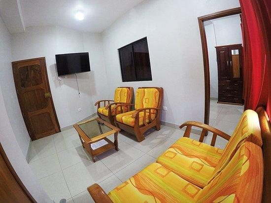 איקיטוס, פרו: Apartamento con Sala confortable