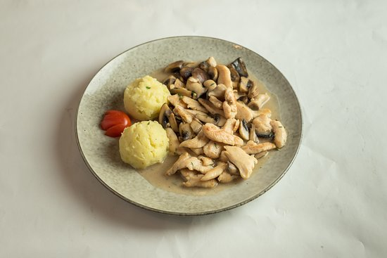 Chicken with Porcini Mushrooms