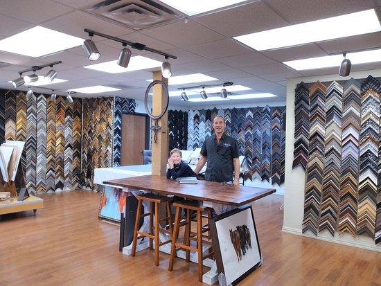 Little Elm, TX: Custom Picture Frame Shop in Denton, TX