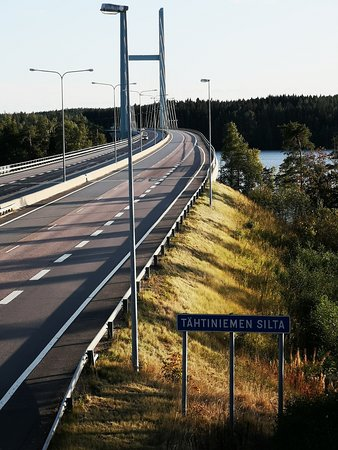 Heinola, ฟินแลนด์: Tähtiniemen Silta