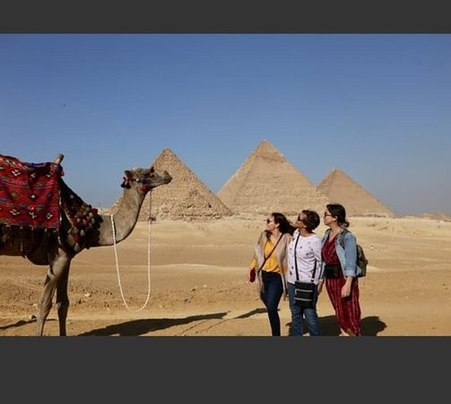 So lovely group with me in Giza