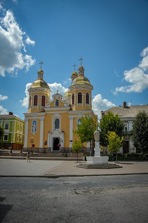 Berezhany, Ukraina: Holy Trinity Church