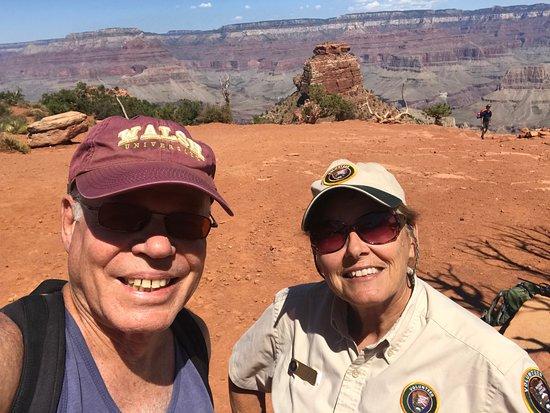 Grand Canyon National Park (with a ranger at Cedar Ridge)