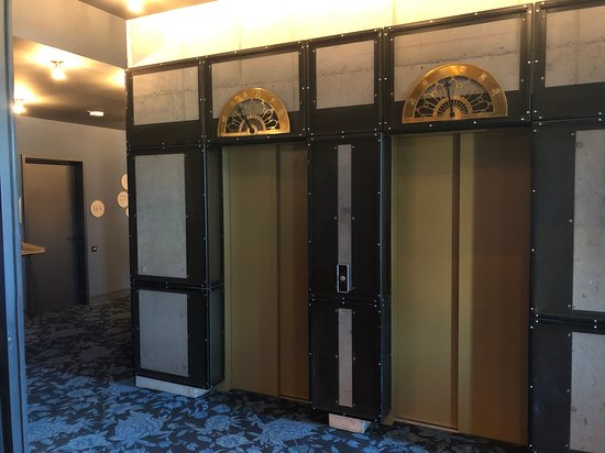 Lift at 25hours Hotel The Royal Bavarian