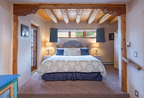 La Loma Studio Junior Suite - a quiet first floor King Junior Suite with tin accents throughout.