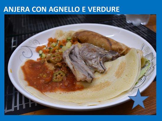 ANJERA CON AGNELLO